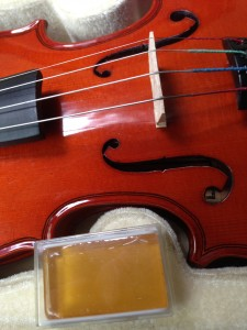 A Rosin With A Violin